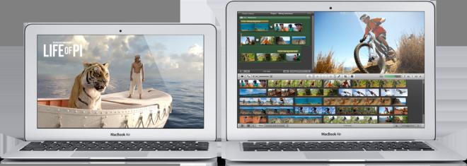Лучший легкий ноутбук - Mac Air